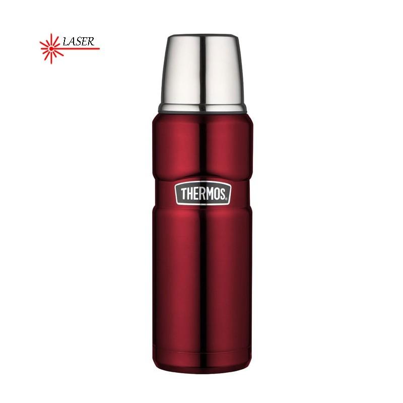 Termoska na nápoje - červená