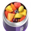 Detská termoska na jedlo - fialová