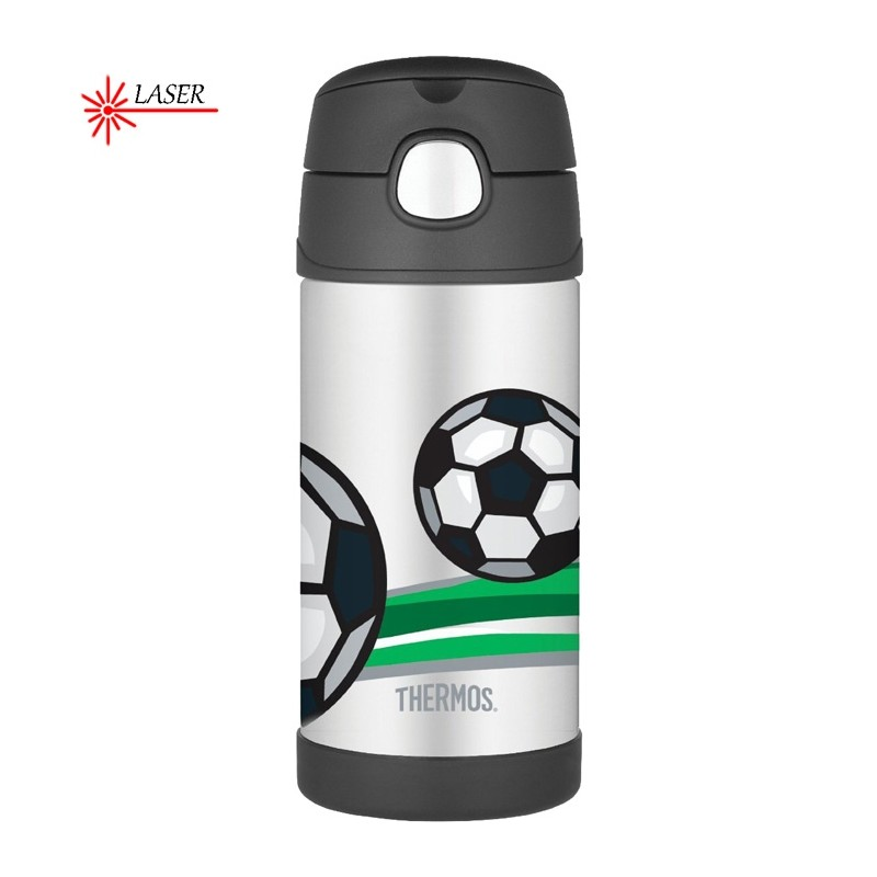 Thermos FUNtainer - termoska do školy so slamkou - futbal c121794c12d