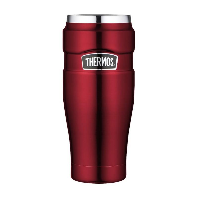 Vodotesný termohrnček - červená