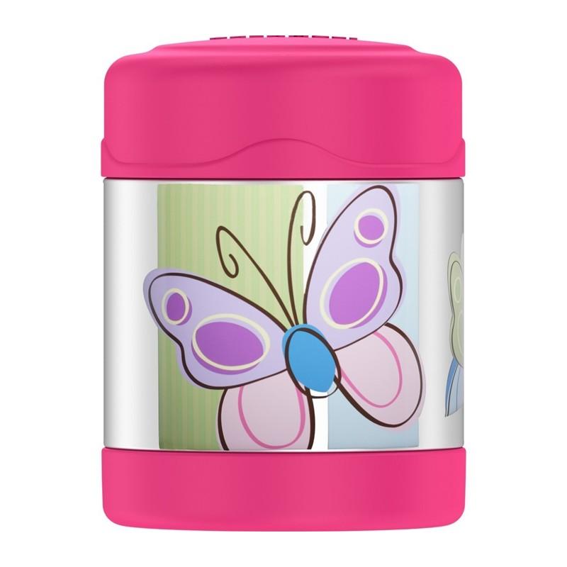Detská termoska na jedlo - motýľ