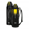 Hydratačná termoska - čierno-žltá