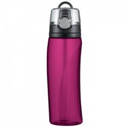 Hydratačná fľaša s počítadlom - purpurová