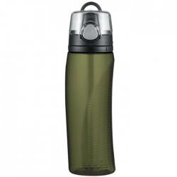 Hydratačná fľaša s počítadlom - olivovozelená