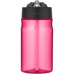 Dětská hydratační láhev s brčkem - růžová