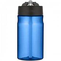 Dětská hydratační láhev s brčkem - modrá