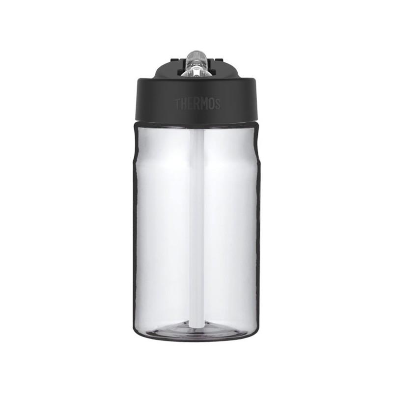 Dětská hydratační láhev s brčkem - čirá