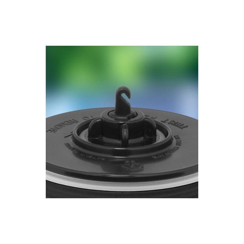 Vodotesný termohrnček - čierna